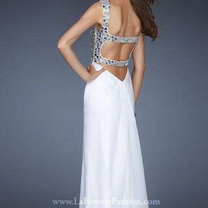 NWT La Femme Prom Pageant Wedding Dress Gown